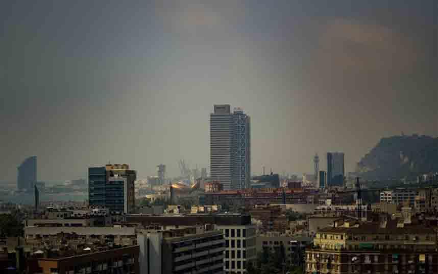 Activado el episodio de contaminación en Barcelona por PM10
