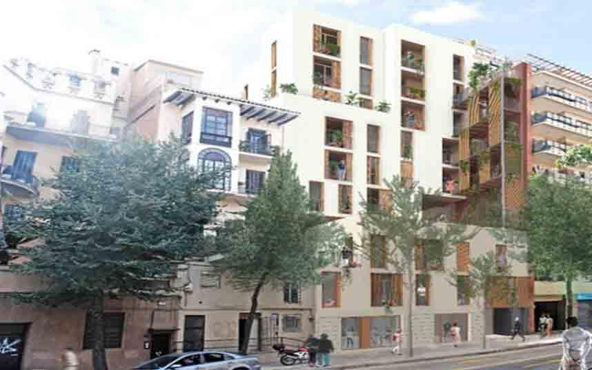 Adjudicación de un edificio de viviendas asequibles en Vallcarca i els Penitents