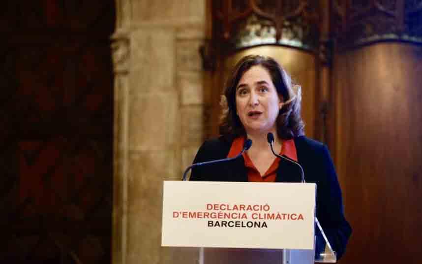 Barcelona declara la emergencia climática