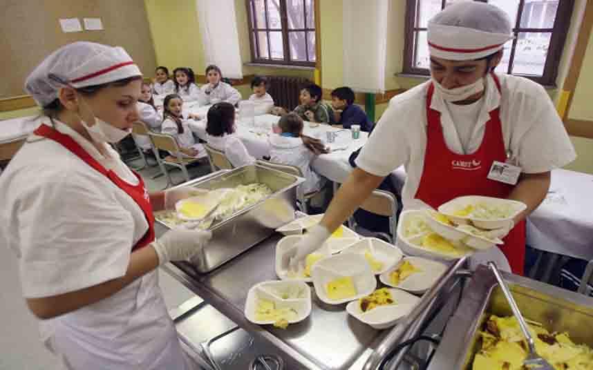 Menos carne roja y procesada en las escuelas de Barcelona