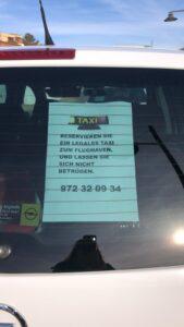 El Hotel Eden Roc en Sant Feliu de Guíxols realiza transporte ilegal de viajeros