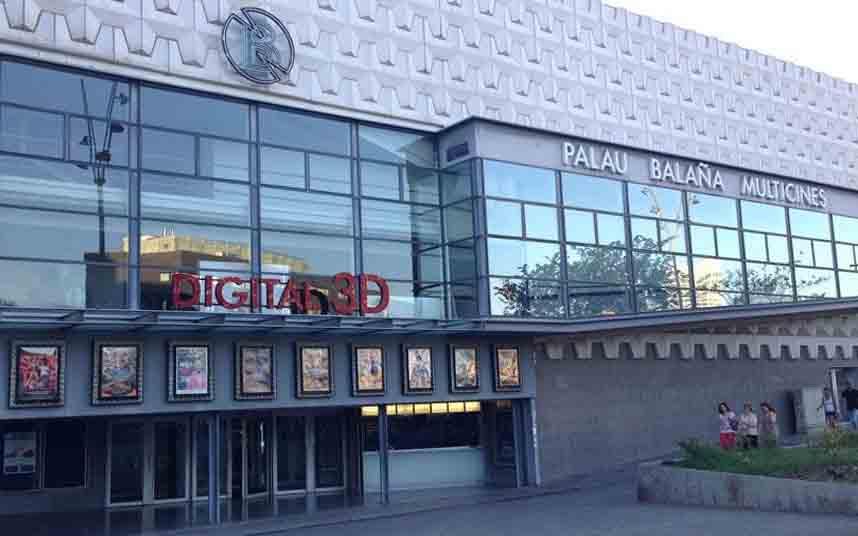 La sala de cine de Sants, Palau Balaña, cerrará el 28 de febrero