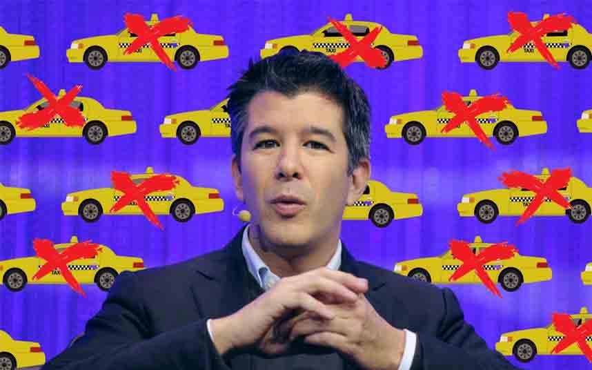 Los cabilderos de Uber y Lyft superaron en número a Amazon, Microsoft y Walmart juntos