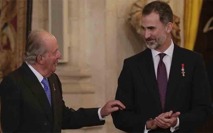 Descubren que el beneficiario del dinero suizo de Juan Carlos es Felipe VI