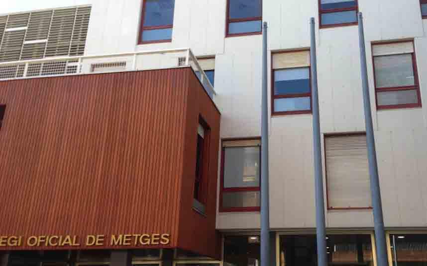 El Colegio de Médicos de Barcelona hace un llamamiento para recaudar material y dinero