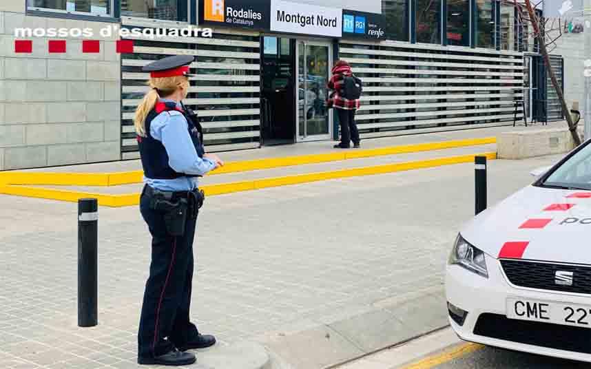 Ingresan en prisión dos jóvenes por robo con violencia a un hombre en Montgat