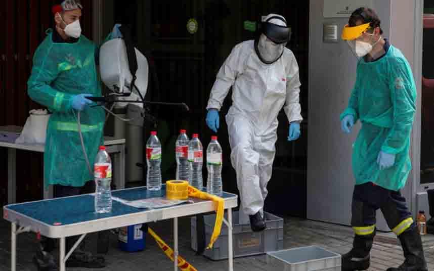 206 nuevos muertos en Catalunya, elevan la cifra de decesos a 8273