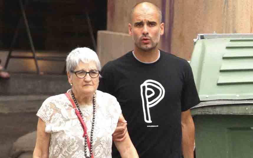Muere la madre de Pep Guardiola por coronavirus