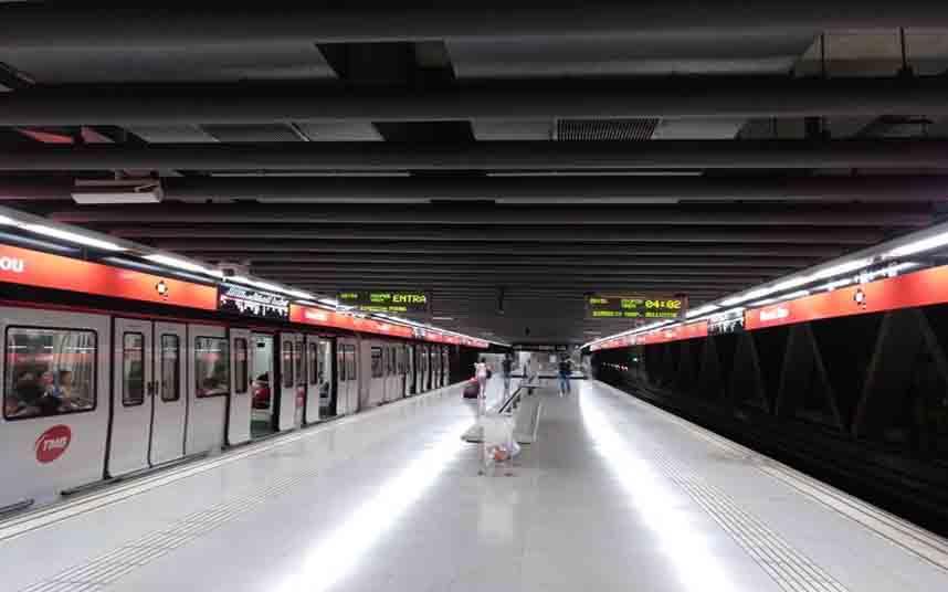 Ventilación controlada de forma inteligente para el metro de Barcelona