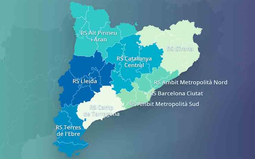 Catalunya Central, Girona y Lleida, propuestas para entrar en la Fase 1