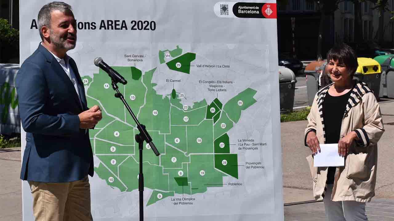 El Ayuntamiento de Barcelona amplía el AREA de aparcamiento regulado