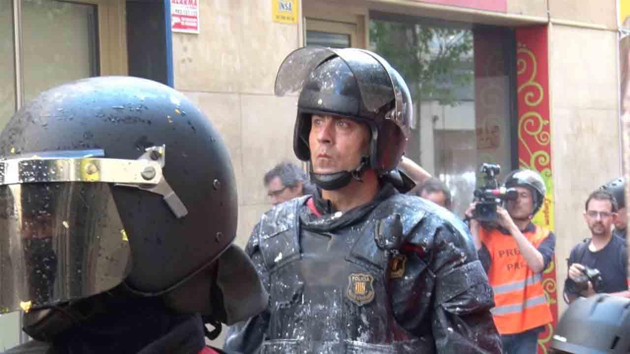 El jefe de los Mossos aparta a Jordi Arasa de los antidisturbios