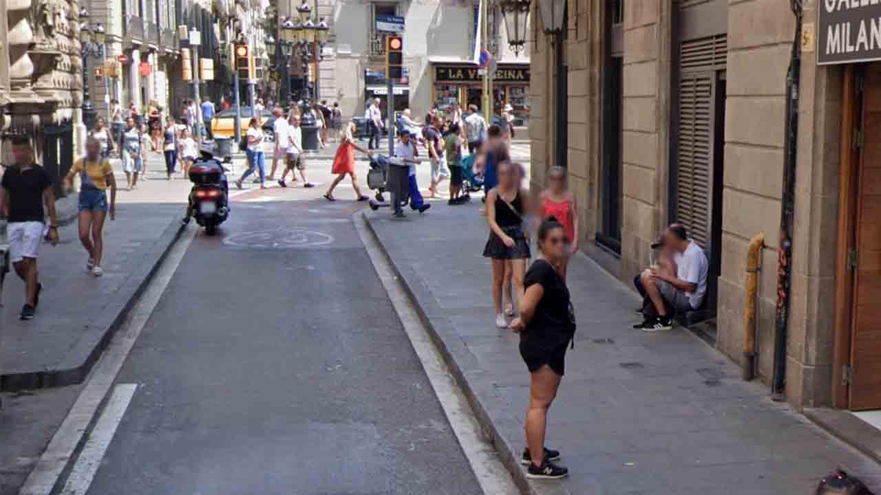 La calle del Carmen de Barcelona estará cerrada todos los días de 9 a 21 horas