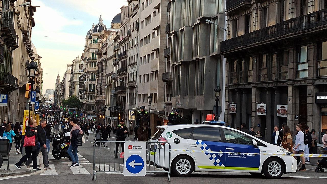Barcelona desplegará más medidas para fomentar los desplazamientos a pie