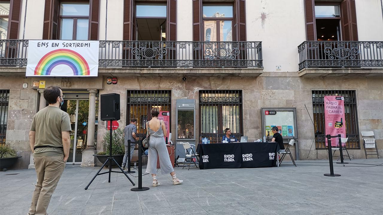 RADIO FABRA vuelve a la actividad en las calles de Sant Andreu