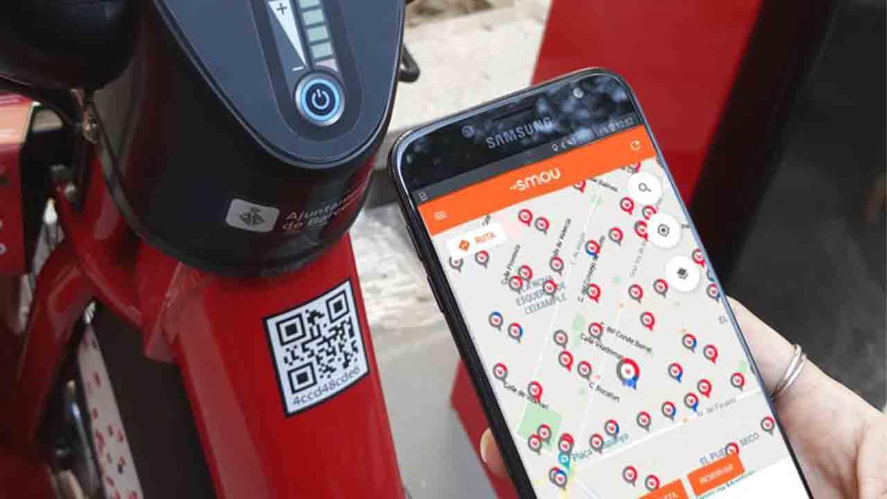 Smou, la nueva app de Barcelona que integra el Bicing y otros servicios