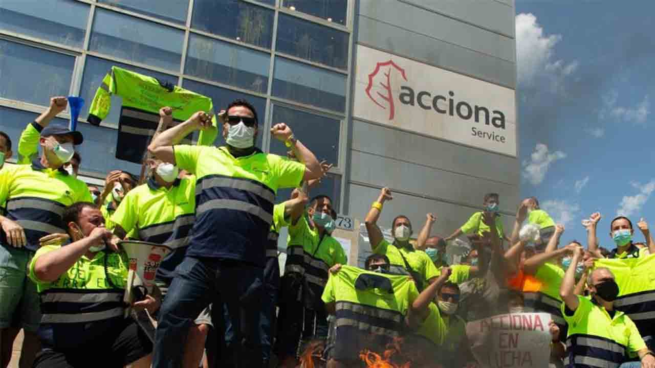 Acciona se prepara para despedir a casi 600 trabajadores en Barcelona