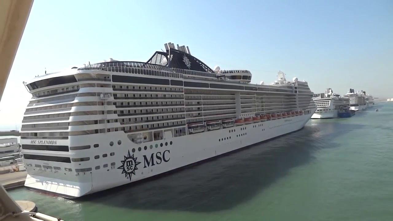 El Puerto de Barcelona pierde el 88% de los pasajeros