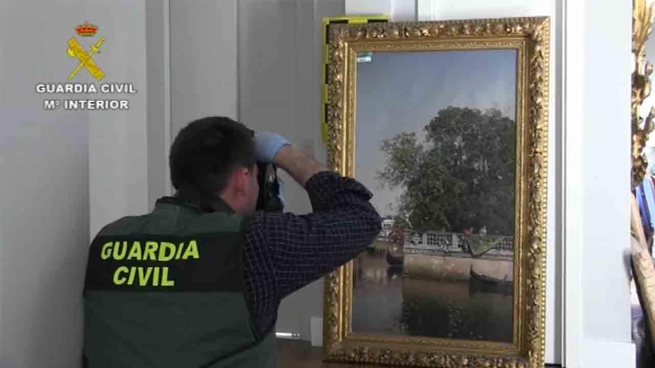 La Guardia Civil recupera 500 obras de la colección Muñoz Ramonet