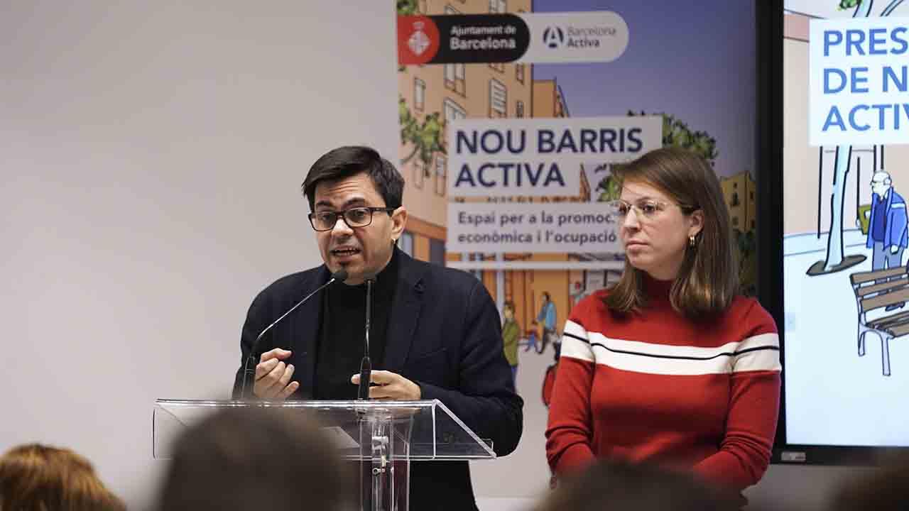 Jornadas para fomentar la reactivación económica en Nou Barris