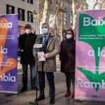 Ayuntamiento y Amigos de La Rambla presentan la campaña 'Baixa a La Rambla'