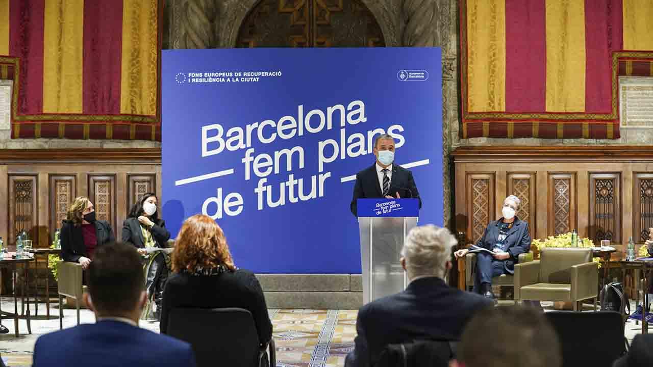Barcelona capta recursos del Fondo de Recuperación y Resiliencia de la Unión Europea