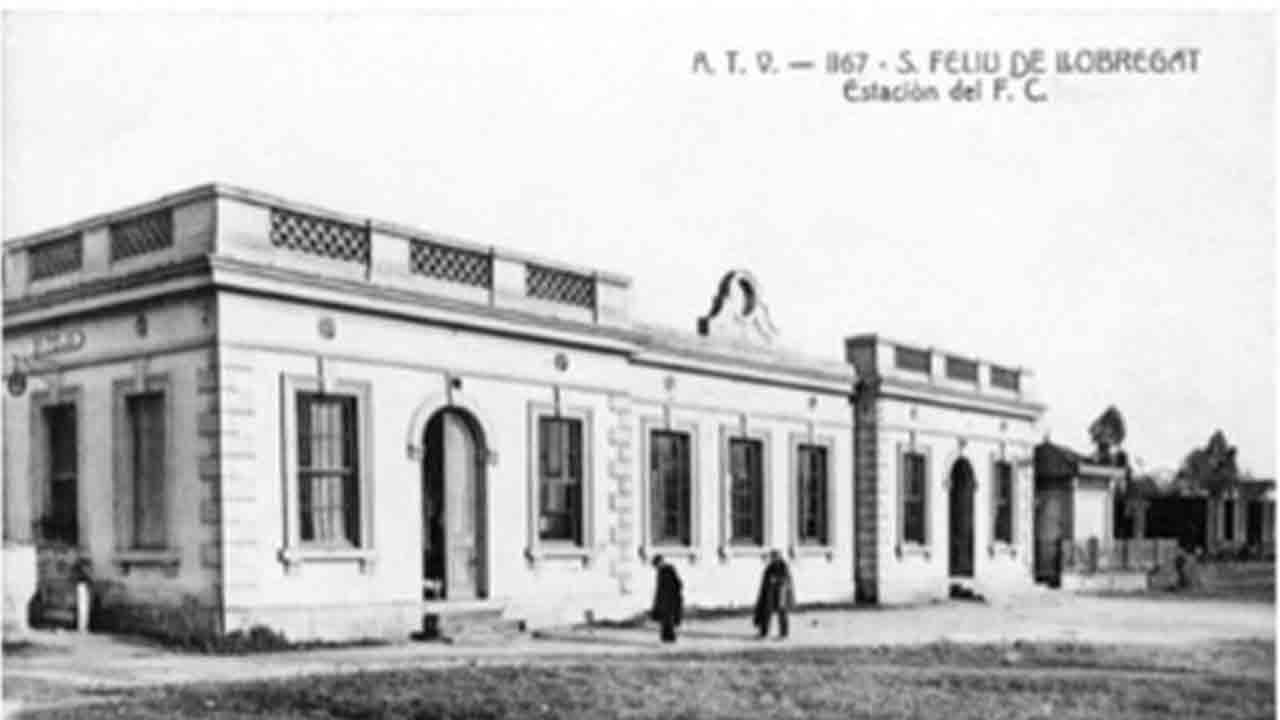 Conservación patrimonial de la estación de tren de Sant Feliu de Llobregat