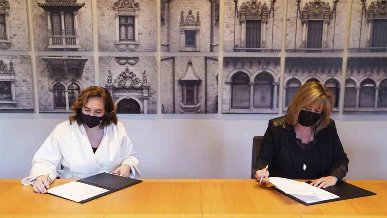 Diputación y Ayuntamiento firman un convenio para financiar varios proyectos