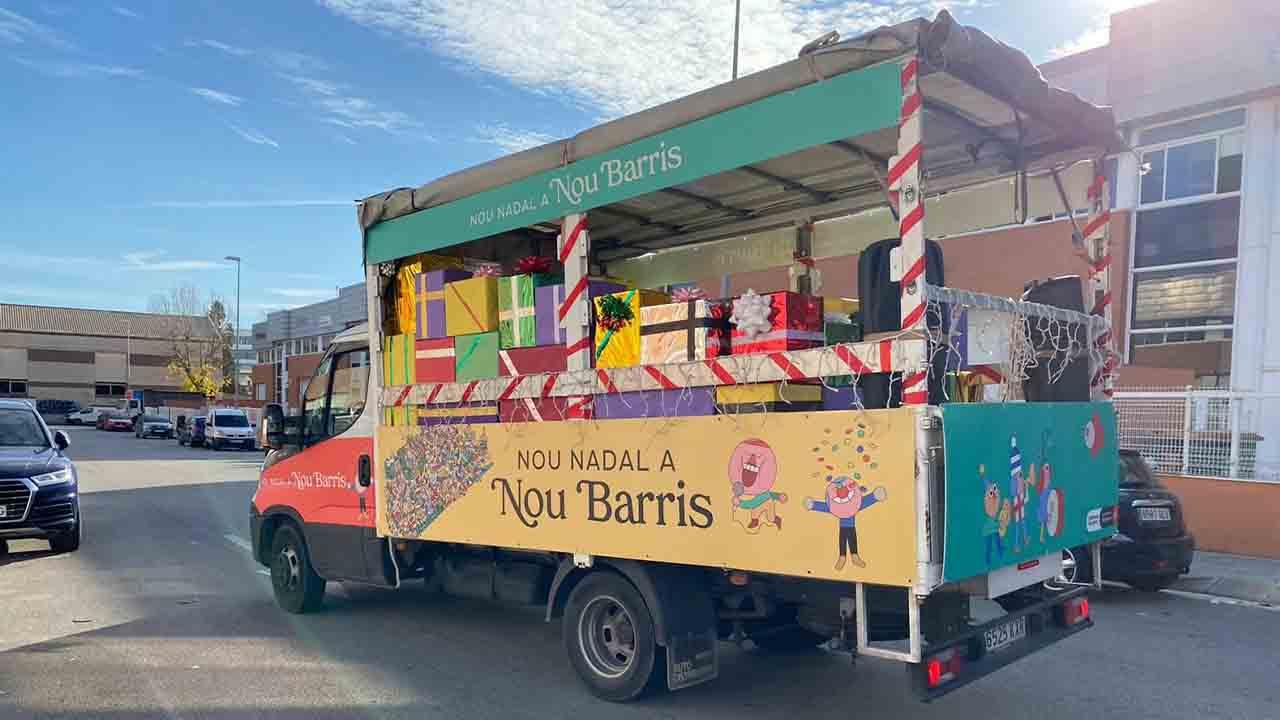 El comercio de Nou Barris, protagonista de la Navidad en el distrito