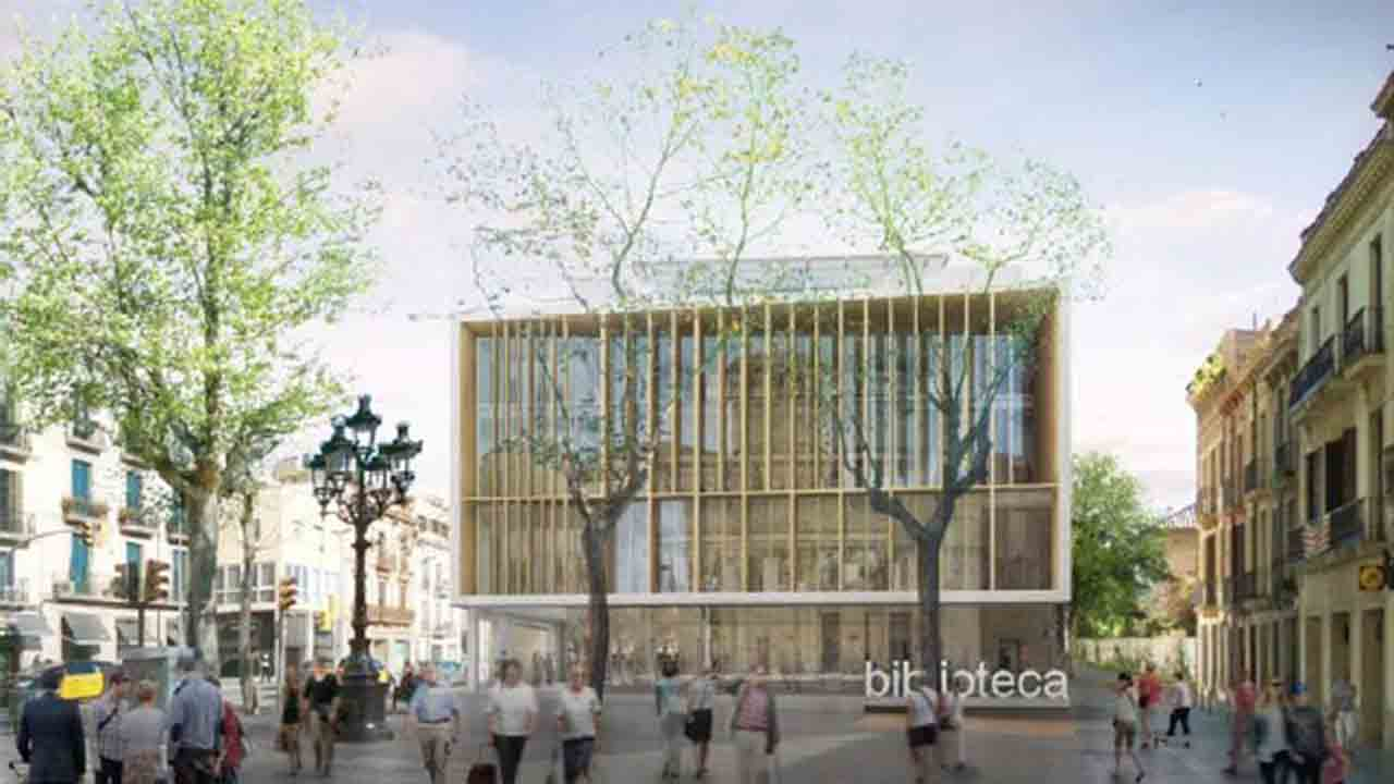 Se abre el periodo de licitación para la construcción de la nueva Biblioteca de Sarrià