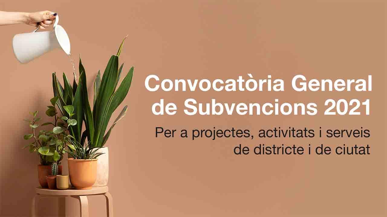 Subvenciones municipales para el año 2021