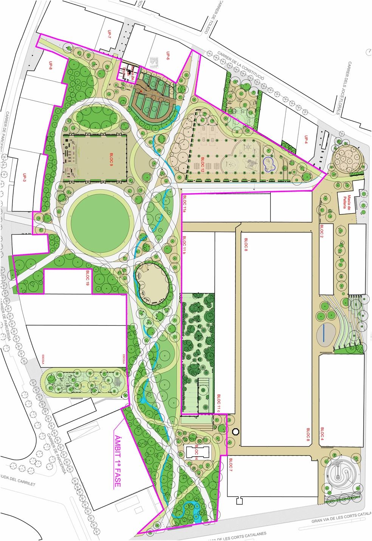 Terminado el proyecto del parque de Can Batlló para Sants-Montjuïc