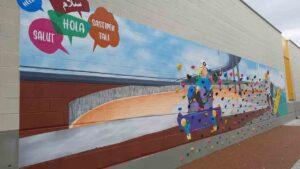 Entra en funcionamiento un nuevo rocódromo en el barrio de Baró de Viver