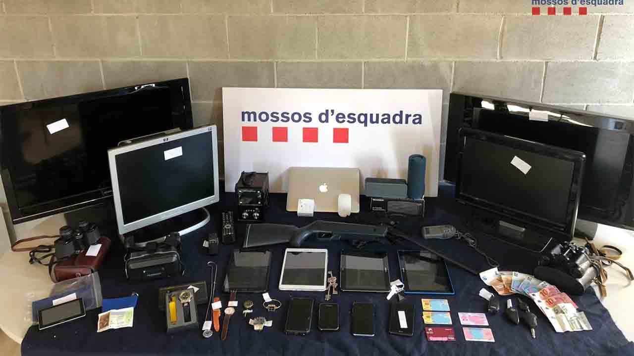 Prisión para un hombre por 27 robos en Esparreguera y Collbató