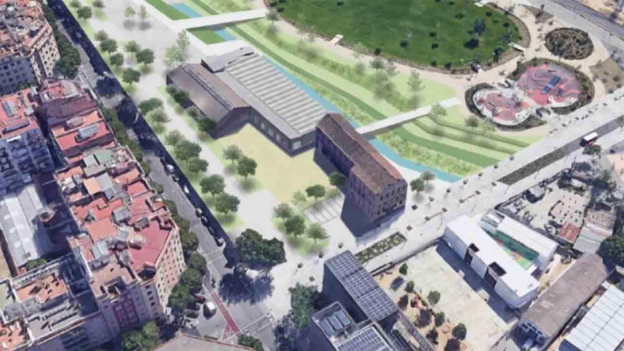 Visto bueno al plan urbanístico que ordena viviendas y equipamientos en Glòries