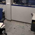 Destrozada la comisaría de los Mossos de Vic en las protestas de Hasel
