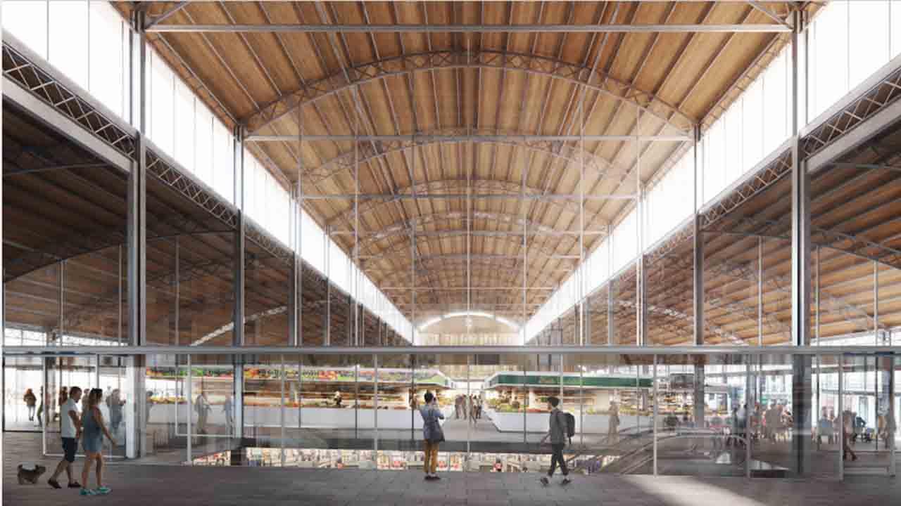 El Mercado de la Abacería incluirá más espacios interiores para entidades y exteriores para uso del vecindario