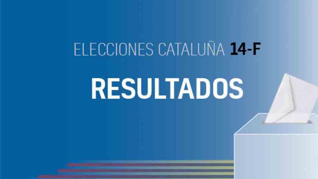 Resultados de las elecciones al Parlament de Catalunya del 14-F
