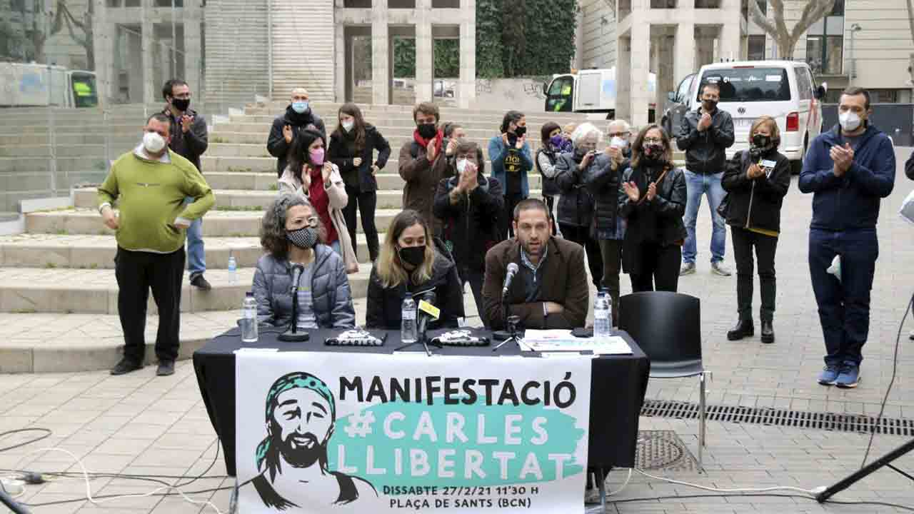 Sale en libertad el vecino de Sants detenido en las protestas pro-Hasel
