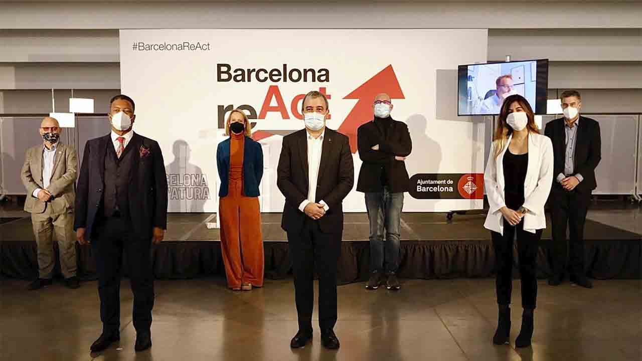 Barcelona reunirá expertos internacionales para impulsar la reactivación económica post-Covid en el evento reAct