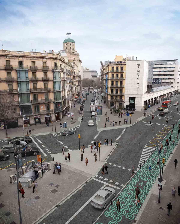 El Ayuntamiento de Barcelona inicia los trabajos de mejora de la calle Pelai