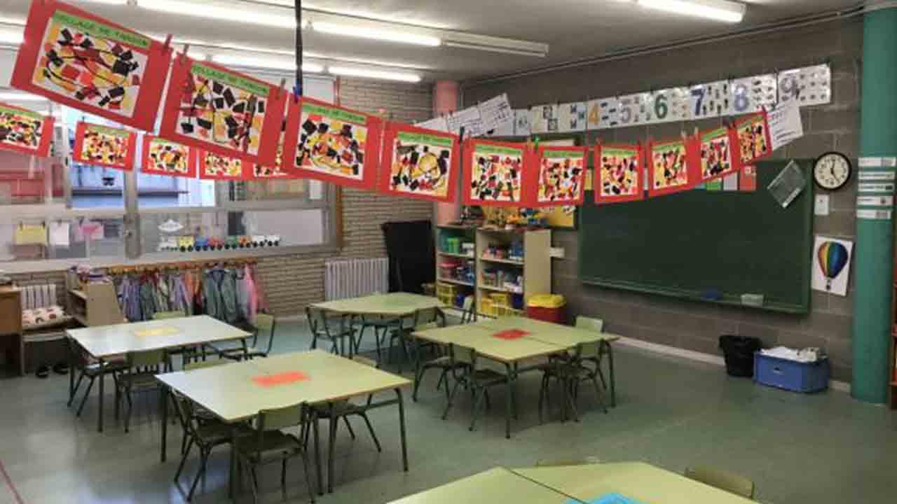 Las escuelas públicas renuevan el mobiliario en 487 aulas infantiles