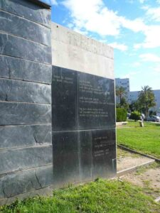 Monumento a Alfonso Comín