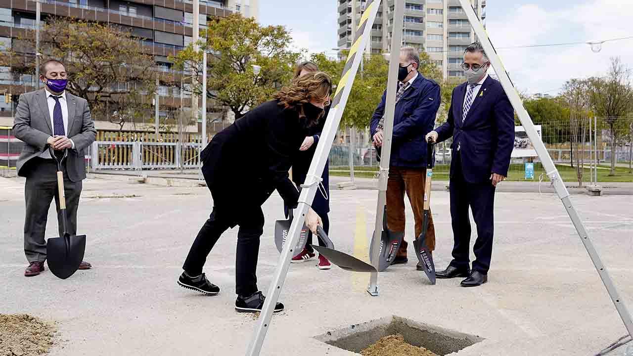 Nuevo avance en el Campus Diagonal-Besòs con la apertura del Parque del Campus