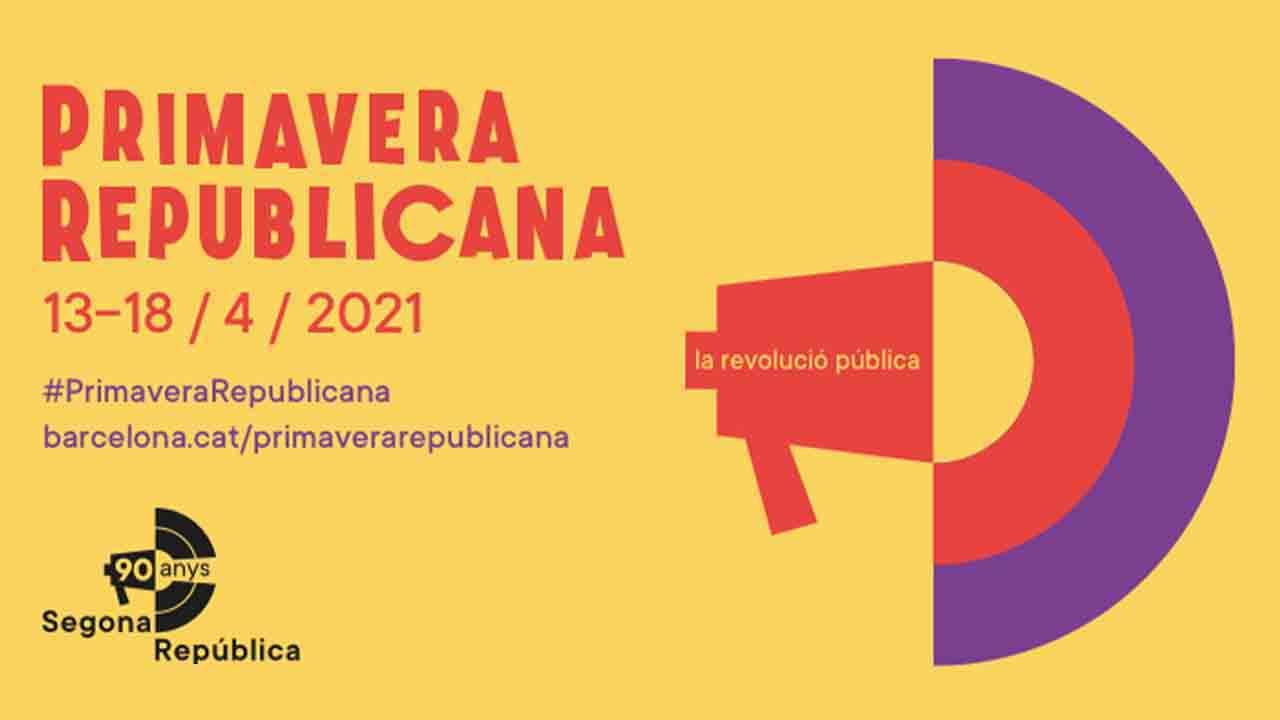 Barcelona conmemora el 90 aniversario de la proclamación de la Segunda República