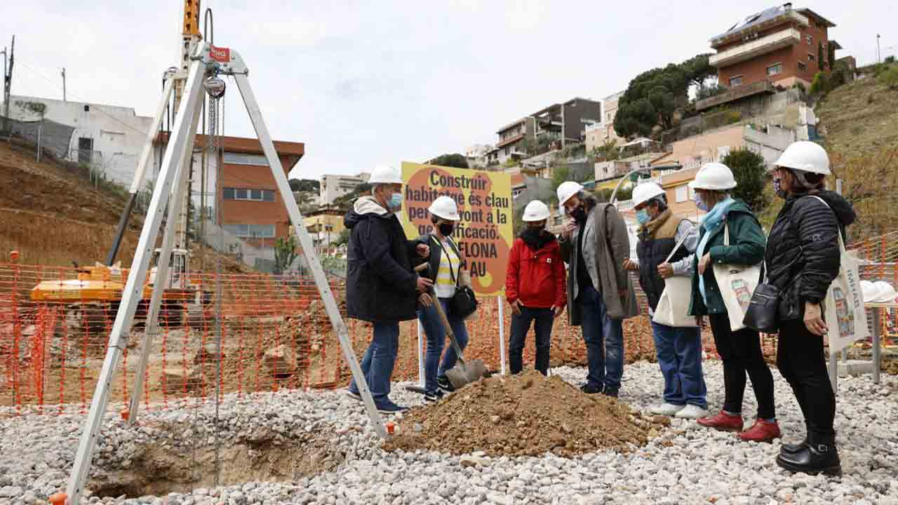 Comienza la construcción de 31 viviendas públicas de alquiler en Torre Baró