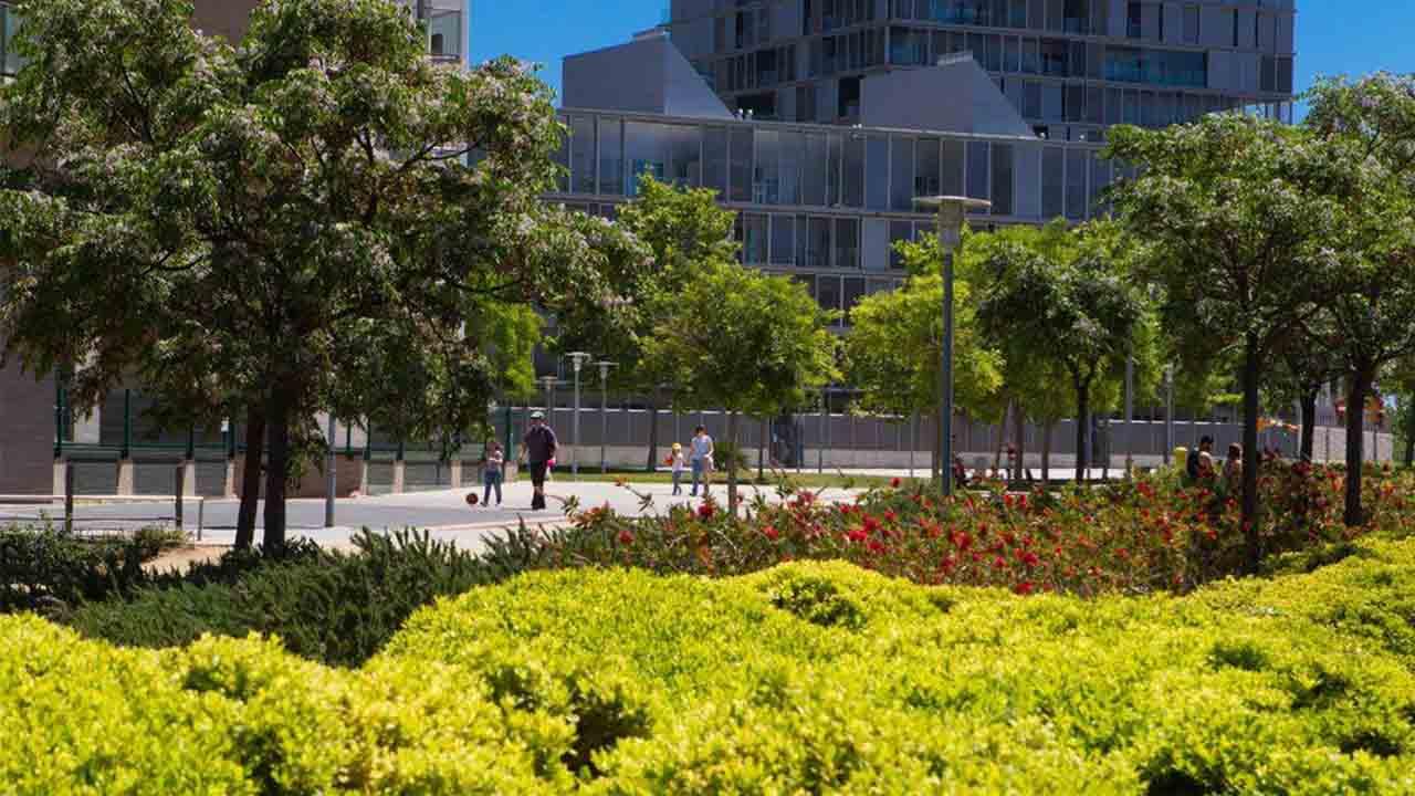 El Parque de Diagonal Mar ya acoge un refugio de la biodiversidad