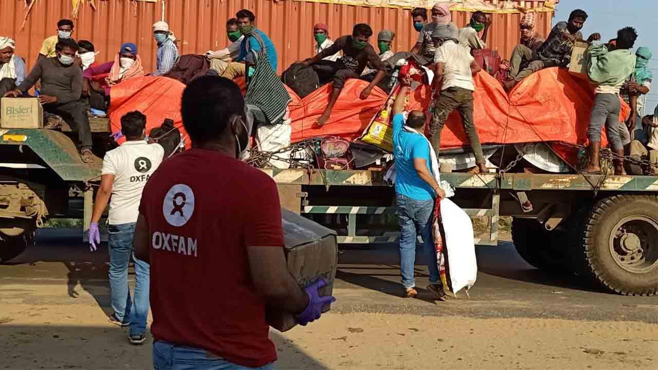 Apoyo del Ayuntamiento a Oxfam Intermón para la emergencia en India
