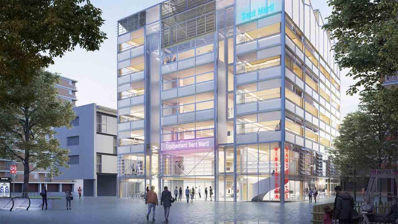 El antiguo Cine Pere IV será un CAP, una biblioteca y un auditorio