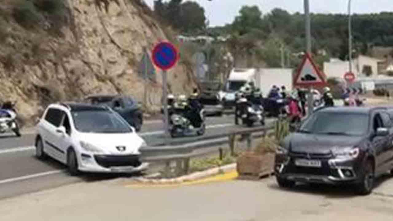 Persecución policial con disparos en Mataró
